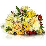 Blumenstrauß Frühlingstraum   VERSANDKOSTENFREI   Entworfen von der Europameisterin   Gratis-Grußkarte & Geschenkverpackung