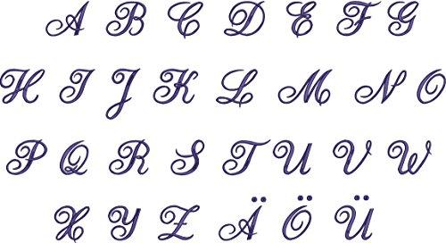 Reisetasche Weekender in Navyblau mit Monogramm und Initialien (Kristina) Mona