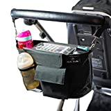Mimi Mama Kinderwagen Organizer, mit abnehmbarem Schulterriemen, sicherem Smartphonehalter. Leicht, stabil und geräumig