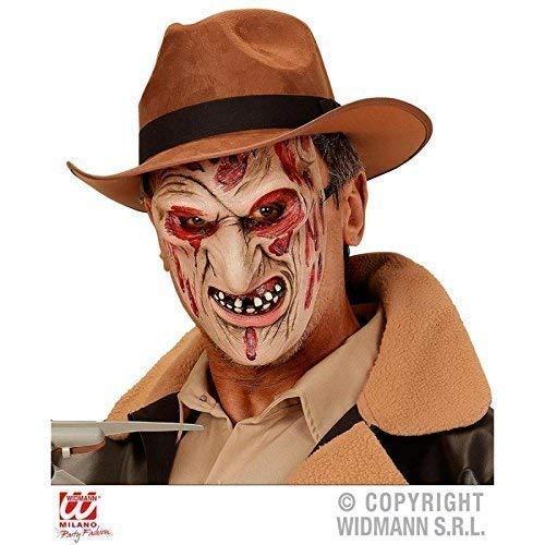 aske / Halloween / Kostümzubehör Burned Killer / verbranntes Gesicht Maske / Mask ()