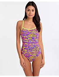 9e2f8e15a04d48 Funkita Single Strap One Piece Swimsuit Women Dotty Dash 2017 Schwimmanzug