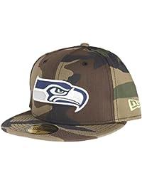 New Era 59Fifty Cap - NFL Seattle Seahawks wood camo