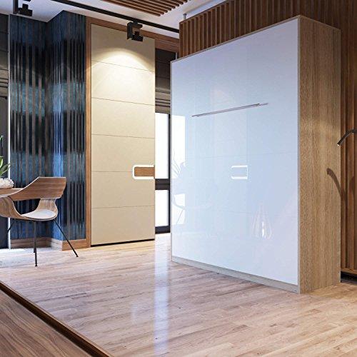 smartbett-schrankbett-wandbett-hochkantbett-guest-bed-160-x-200-cm-sonoma-oak-high-gloss-white-front