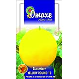 Omaxe Vegetable Seed Cucumber South Spl Yellow Round (50 Seeds Pack)