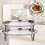 #9: Imported and new Rack Insert Stock Pot Steaming Tray Stand