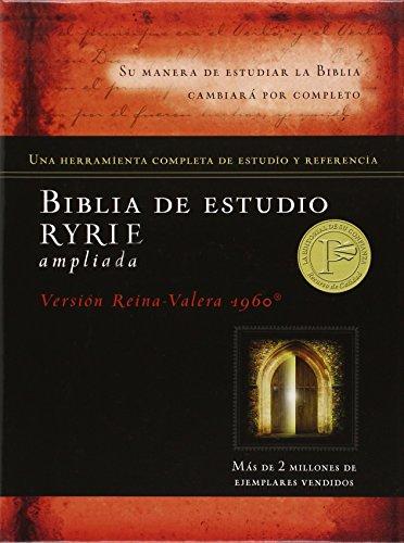 Biblia de estudio Ryrie: Reina-Valera 1960, marron, duotono