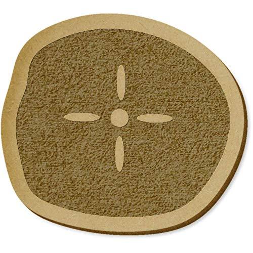Azeeda 6 x 'Sand Dollar' MDF Craft Verzierungen (EB00009896) (Sand-dollar-kunst)