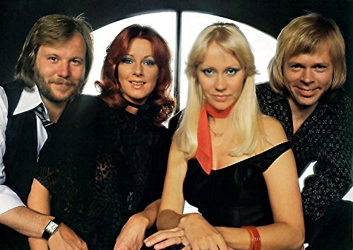 ABBA Poster A4. Fast Dispatch.