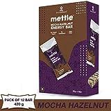 Mettle Mocha Hazelnut Energy Bars- 35 g. (Pack of 12)