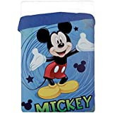Colcha Invierno Bebé Disney Mickey edredón 180x 260cm con relleno 320gr/m²