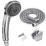 Shower Head, 7 Modes Spray Settings Water Flow Options Adjustable Head Set Adjustable