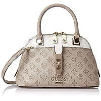 GUESS Womens Handbag, Taupe/Multicolour - SG739805