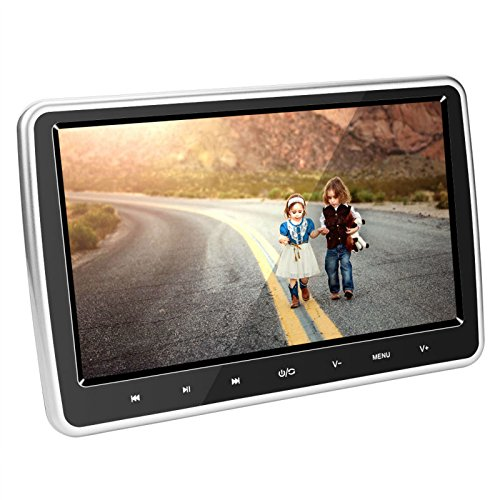 Auto DVD Player Kopfstütze Monitor 25,7cm HD 1024* 600HDMI USB SD IR/FM Ultra Dünn Digital-LCD-Bildschirm durch hengweili