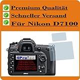 2x Entspiegelnde Displayschutzfolie Bildschirmschutzfolie für Nikon D7100 Schutzhülle Displayschutz Displayfolie Folie