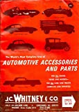 Automotive Accessories and Parts Catalog No. 263