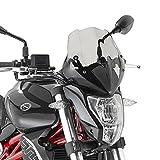 Cúpula Moto Benelli BN 302 15-17 Givi ahumado oscuro + Kit de montaje