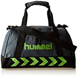 Hummel Authentic Sports Bag Sporttasche, Größe:XS, grün(Dark Slate/Green Flash), 40x23x21cm, 14 Liter