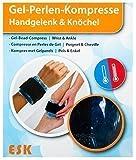 ESK Gel Perlen Kompresse Kühlkissen Wärmekissen Gelkompresse Knie Kopf Nacken , Modell:Handgelenk und Knöchel