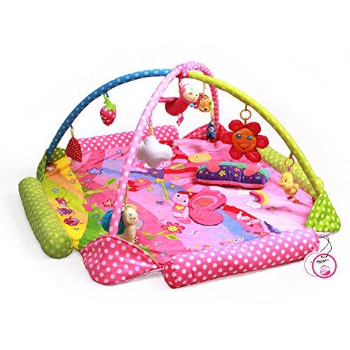 zicac-palestrina-educativa-per-bambini-tappetini-gioco-tessuto-super-soffice-con-pois-api-modello-ta