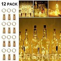 Les solawill bouteille guirlandes lumineuses étaient belles et universelles. Vous pouvez les mettre dans une bouteille en verre, qui est comme une luciole ou une étoile dans la bouteille. C'est aussi un cadeau parfait pour vos enfants, amis et famill...