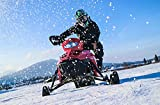 Geschenkgutschein: E-Schneemobil fahren in Inzell