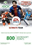 Xbox 360 - Live Points Card 800 - im Design von EA Sports