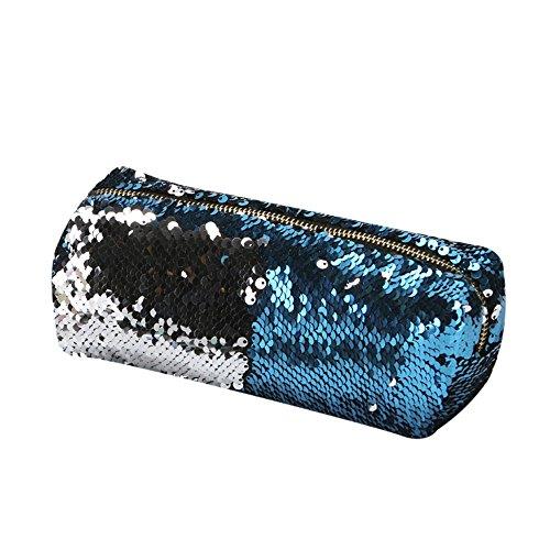 VJGOAL Damen Kupplung, Mädchen Art und Weisedoppelte Farben Pailletten Handtaschen Kosmetiktasche Make-up Beutel