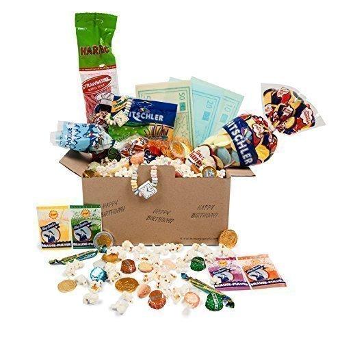 Süße Geburtstags-Box (Ufo-süßigkeiten)