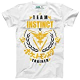 Photo de Kanto Factory T-Shirt Pokémon GO Team Instinct/Intuition, Equipe Jaune représenté par Electhor/Zapdos par Kanto Factory