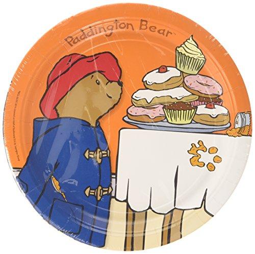 amscan-international-23-cm-paddington-bear-paper-plates