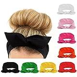 #8: Skudgear Women Headbands Turban Headwraps Hair Band Bows Accessories for Fashion Or Sport