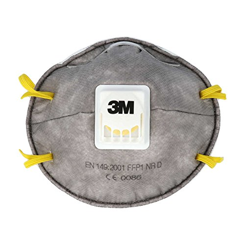 3M Atemschutzmaske mit Ventilund Aktivkohle, 1 Stück