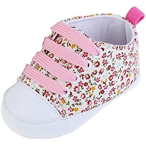 Scarpe casual Kingko® Bambino soft Soled antiscivolo scarpe da bambino su tela floreali di bambino scarpe casual scarpe primavera estate autunno bambini