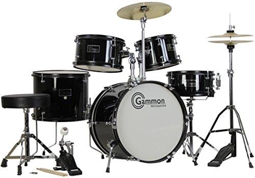 komplett-5-teilig-schwarz-junior-drum-set-with-cymbals-steht-sticks-hardware-und-hocker-schwarz
