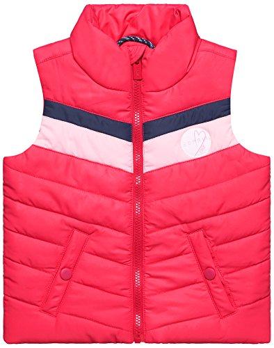 ESPRIT Kids Mädchen Weste RL4800301, Rosa (Candy Pink 300), 104 (Herstellergröße: 104/110)