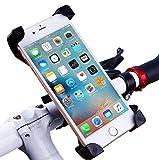 Vicstar Support Vélo Smartphone Support Télephone Vélo Support de Fixation Vélo Support Guidon pour Vélo avec Rotation à 360 °Universel et Réglable pour pour Téléphone Portable de 3.5-6,5 pouces Comme iPhone/Samsung/Huawei iPhone 7/7 Plus/6S/6s Plus/5S/5C/SE, Samsung Galaxy S8/S7 Edge/S6 Edge,Huawei P10/P9/P8 Lite, LG G6, GPS, MP3 Playe Etc