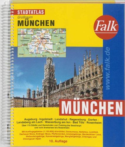 Falk Stadtatlas Großraum München