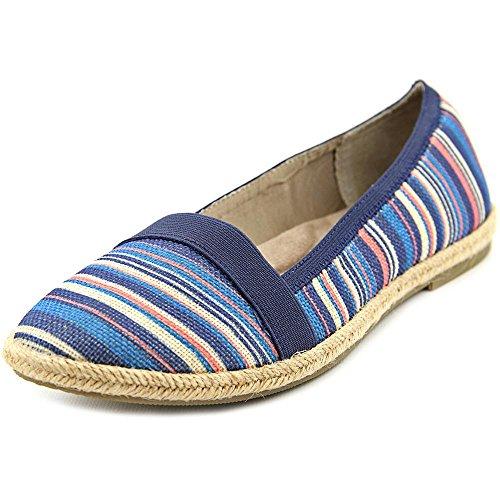 Giani Bernini Coraa Toile Chaussure Plate Blu-Pnk Stripe