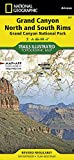Grand Canyon, Bright Angel Canyon/north & South Rims: Trails Illustrated National Parks (Trails Illustrated Map)