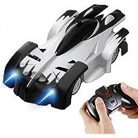 SGILE 4CH Auto da Corsa Telecomandata RC Arrampicabile sulla Parete Scalatore Rocket Toy Car Racer Nero