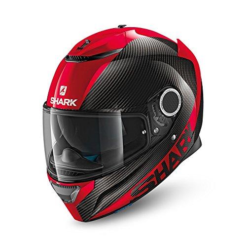 Preisvergleich Produktbild Motorradhelm Shark Spartan - Rot - M