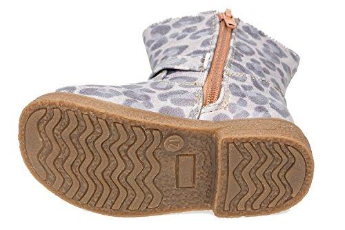 Bild von GIBRA® Stiefel für Babys und Kleinkinder im Leoparden-Look, mit Reißverschluss, Gr. 19-23