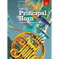Principal Horn, Score, Part & CD: 13 repertoire pieces and studies for Horn, Grades 6-8