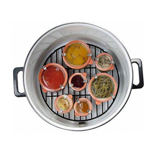 Digitaler Edelstahl Einkochtopf nutzbar als Glühweintopf, Einwecktopf, Suppen-Kochtopf, Würstchen-Topf, mit