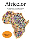 Africolor: An adult coloring book inspired by travels around countries in Africa: Volume 1