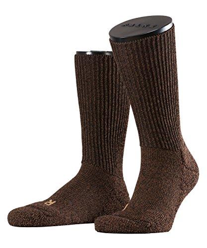 FALKE Unisex-Socken 16480 Walkie Trekking SO, Gr. 44/ 45 braun (dark brown 5450) (Braun Trachten Boots)