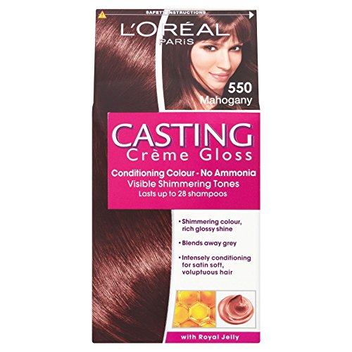 3 x L'Oreal Paris Casting Creme Gloss Conditioning Colour 550 Mahogany
