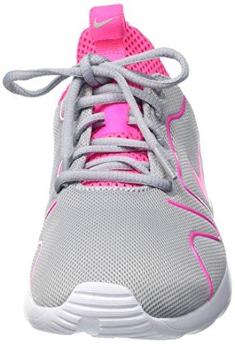 Nike Damen Wmns Kaishi 2.0 Trainingsschuhe, 38 EU Mehrfarbig (Wolf Grau/ Pink Blast-Weiß)