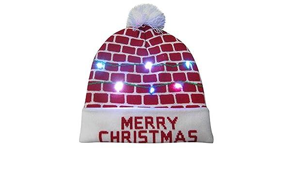 5 LED Sport Ski Strickmütze Cap  Haar Licht Leuchtend Hüte Mütze