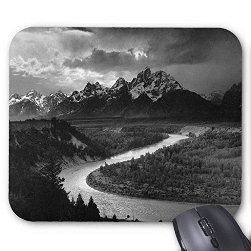 Ansel Adams The Tetons and The Snake River Mouse Pad 18×22 cm -